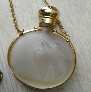 Jewelry - Nina Ricci Lalique perfume bottle pendant